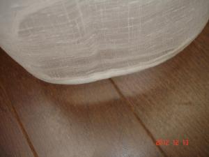 シンコールAZ-6568(レース)裾を本縫いウエイト