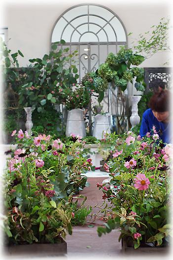 9月のお花教室2