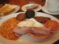 Irish full breakfast