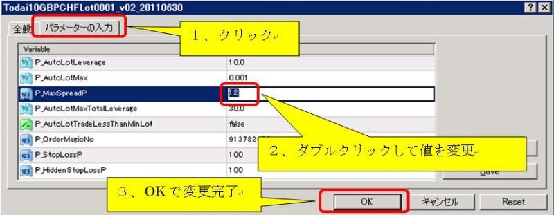 FXツール研究所【無料サポート】ブログ-MT4EAParaMaxSpread