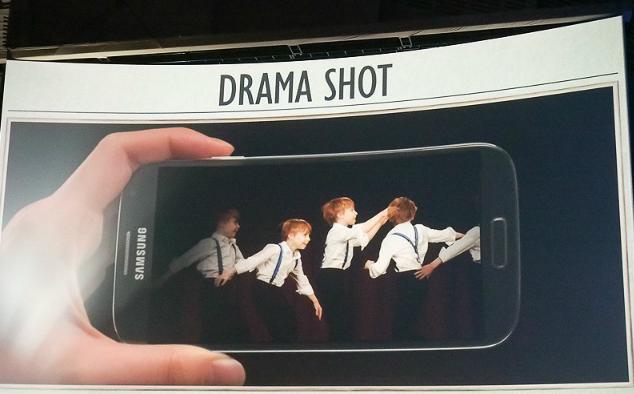 ドラマショット GALAXY S4 ドコモ iphone