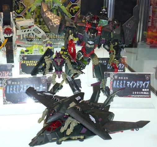 東京国際アニメフェア2010 タカラトミー マインドワイプ&スカイストーカー
