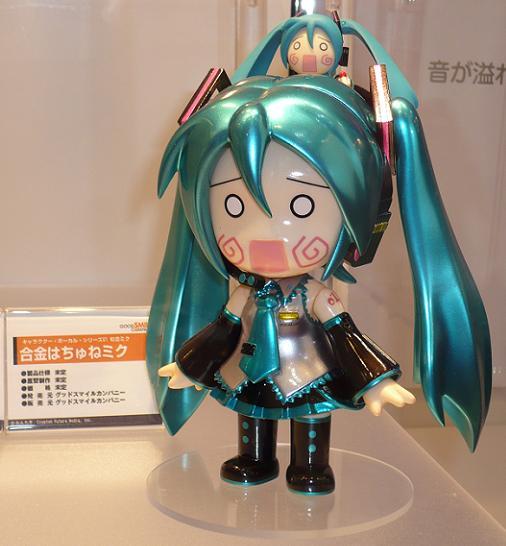 東京国際アニメフェア2010 グッドスマイルカンパニー 合金はちゅねミク