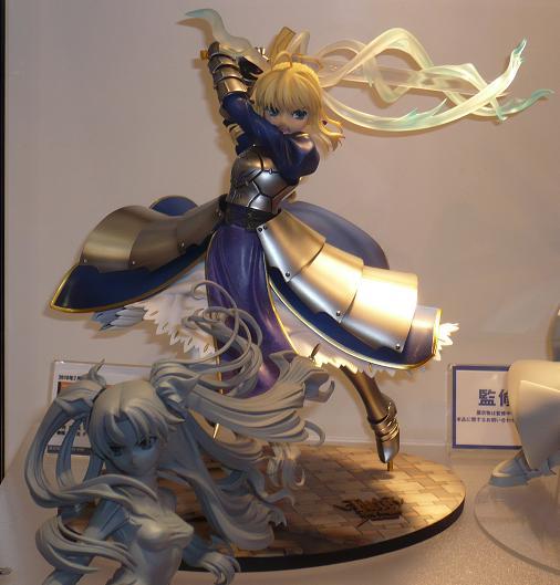 東京国際アニメフェア2010 グッドスマイルカンパニー セイバー ~約束された勝利の剣(エクスカリバー)~