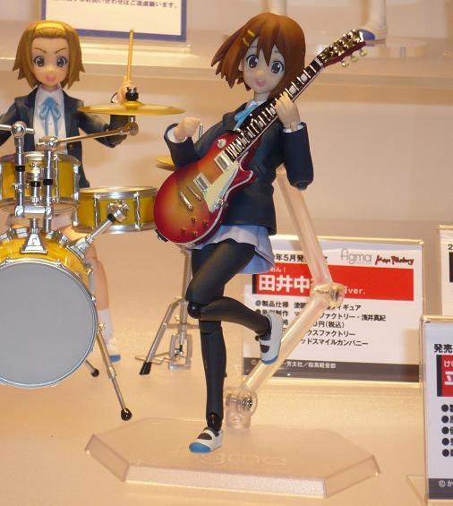東京国際アニメフェア2010 グッドスマイルカンパニー figma 平沢唯 制服Ver,
