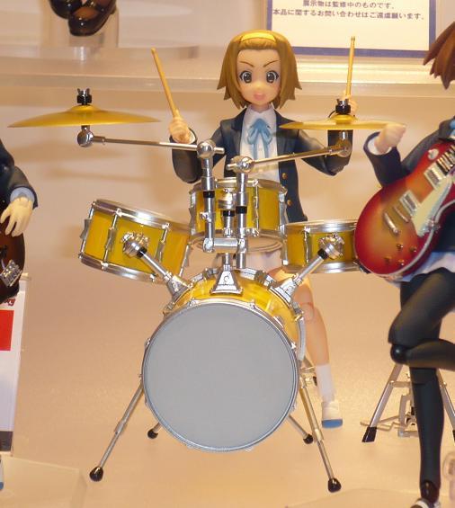 東京国際アニメフェア2010 グッドスマイルカンパニー figma 田井中律 制服Ver,
