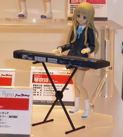東京国際アニメフェア2010 グッドスマイルカンパニー figma 琴吹紬 制服Ver,