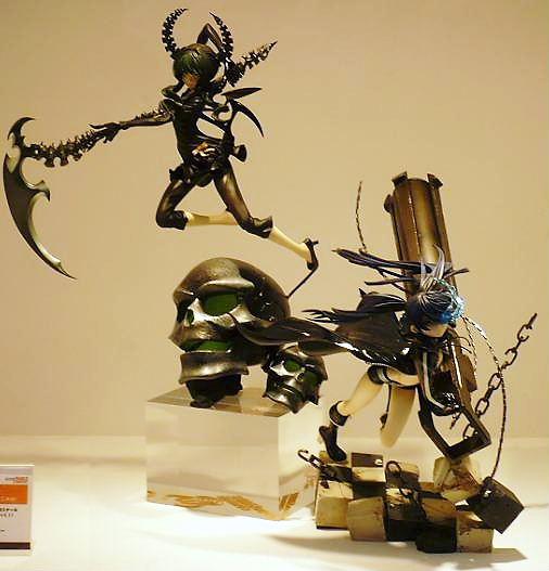 東京国際アニメフェア2010 グッドスマイルカンパニー ブラック★ロックシューター&デッドマスター アニメVer,