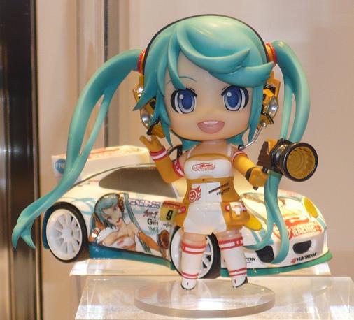 東京国際アニメフェア2010 グッドスマイルカンパニー ねんどろいど レーシングミク