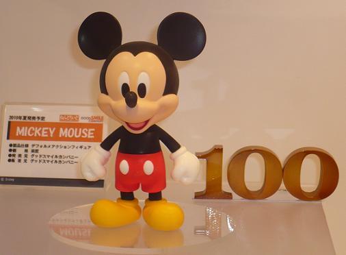東京国際アニメフェア2010 グッドスマイルカンパニー ねんどろいど MICKEY MOUSE
