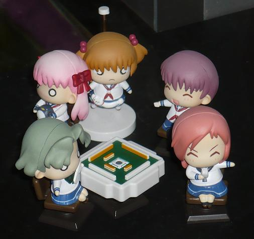東京国際アニメフェア2010 ゴンゾ つぶコレBOX 咲 -Saki-