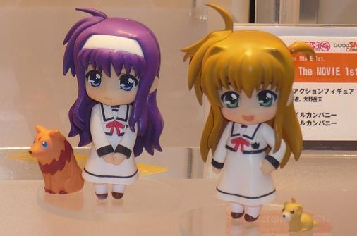 東京国際アニメフェア2010 グッドスマイルカンパニー ねんどろいどぷち 月村すずか&アリサ・バニングス