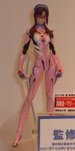 東京国際アニメフェア2010 グッドスマイルカンパニー figma 真希波・マリ・イラストリアス プラグスーツVer,