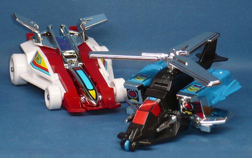 スーパークロス合体ロボ クロス2号&クロス3号