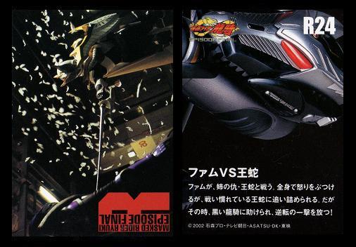 R24 ファムVS王蛇