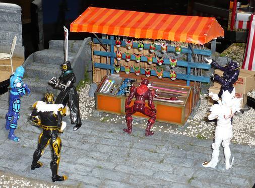 魂フェスティバル2010 S.H.Figuarts モモタロスイマジン他