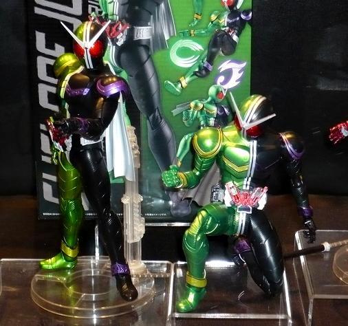 キャラホビ2010 MGフィギュアライズ 仮面ライダーダブル サイクロンジョーカー