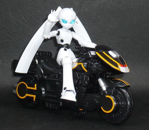 ドロッセル/ライドベンダー マシンバイクモード