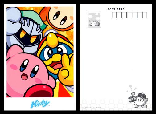 星のカービィ 20周年ポストカード 001