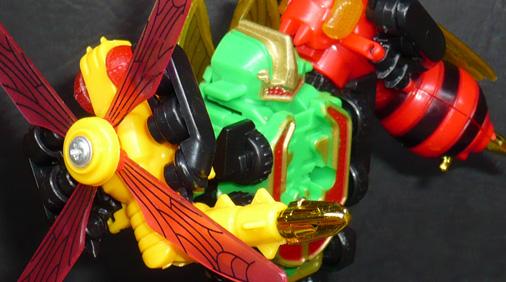 昆虫合体ロボ バトルフォーム