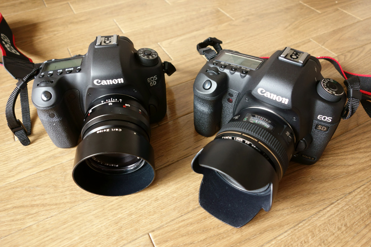 EOS6D & EOS5DMkⅡ