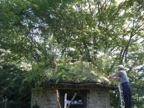 小屋屋根1