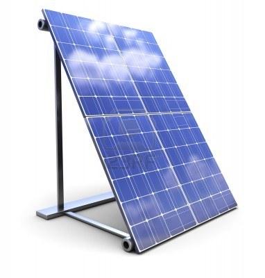 ソーラーパネル LED投光器など