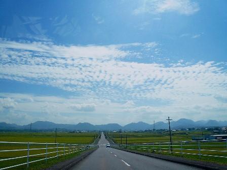 1宇佐平野からウロコ雲P1010242