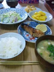 祖母の朝食
