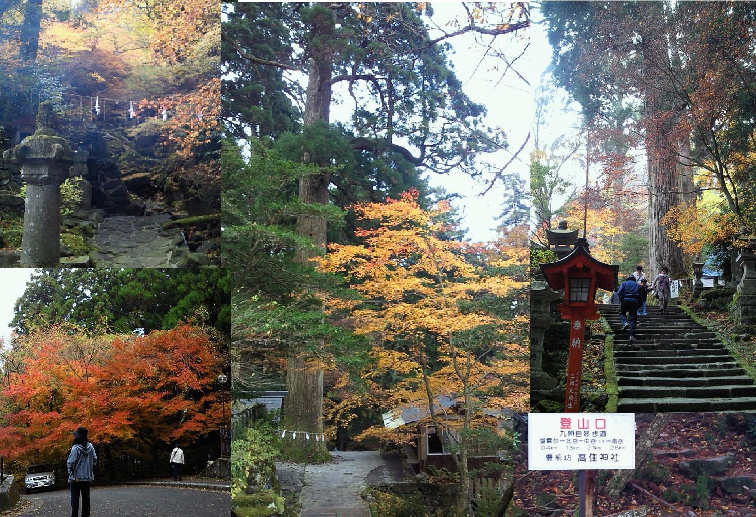 英彦山「高住神社」で御神水