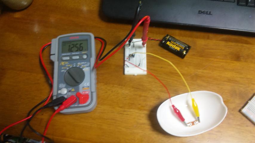 ギガオーム計測回路