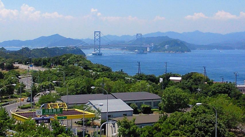 鳴門海峡を渡れば淡路島