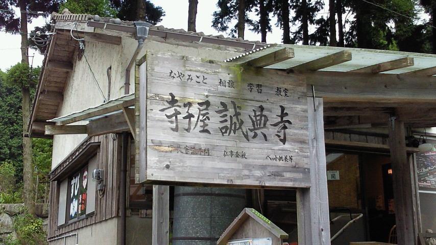 三瀬は寺子屋「誠典寺」で一休み