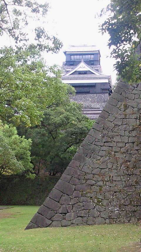 石垣の熊本城