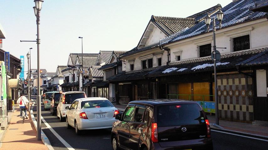 白壁とうだつの江戸時代にタイムスリップ
