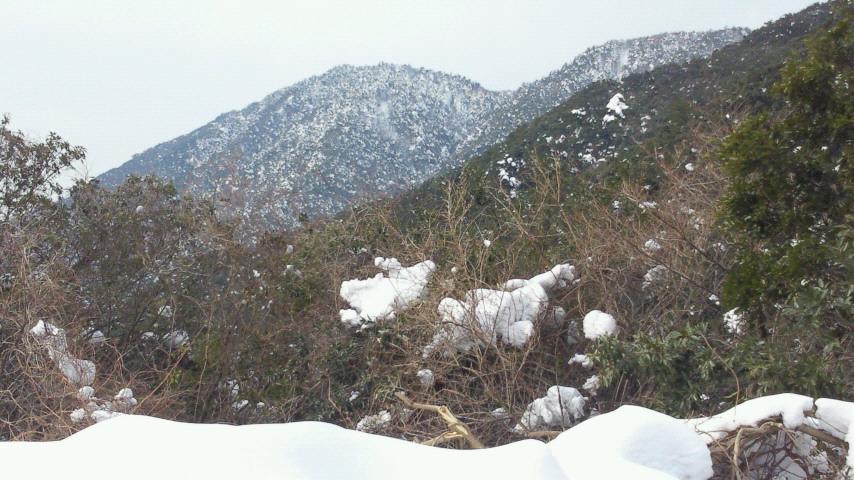 雪山気持最高