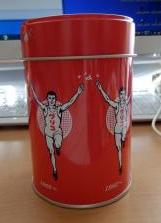 グリコ缶①