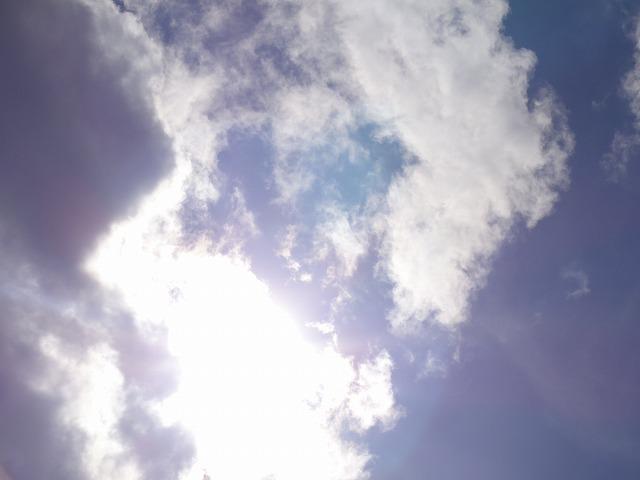 DSC04142s-640高積雲?と陽光