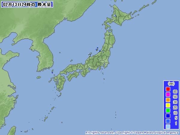 201102140000-00降水量
