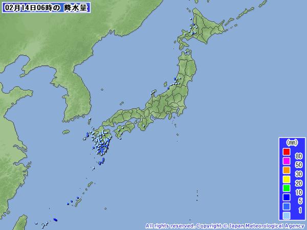 201102140600-00降水量