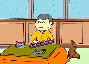 小豆の選別