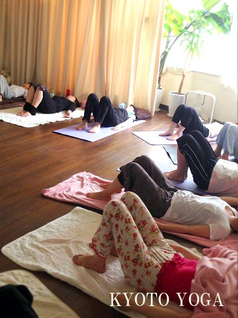 8月ユキコ先生ハタヨガ&瞑想特別クラス 2014年 京都ヨガ