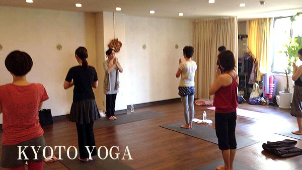 京都ヨガアシュタンガヨガ基礎集中トレーニング第1回 2014年9月