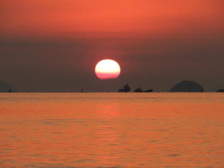 立岩海岸 夕景 4