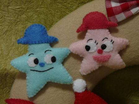 フェルト・アンパンマンとクリスマス・ツリーくんのリース 3