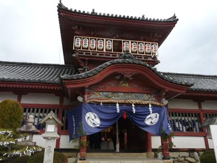 伊佐爾波神社 2