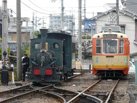 坊っちゃん列車 & 路面電車