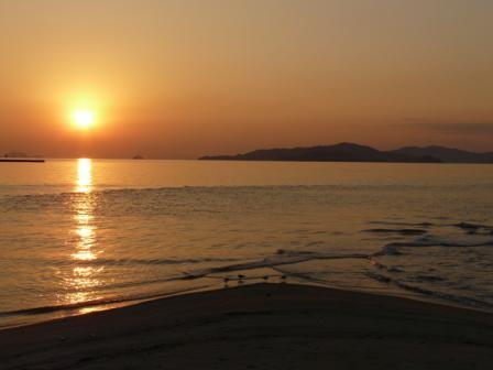 立岩海岸 夕景 1