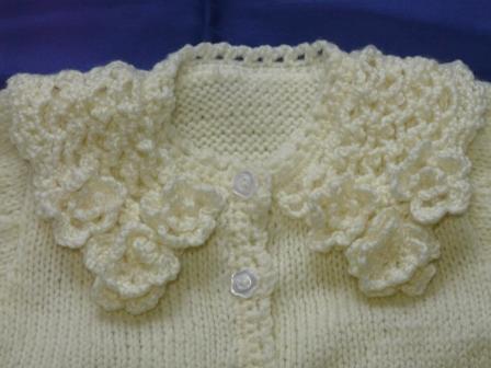 編み物 ベビードレスセット 2