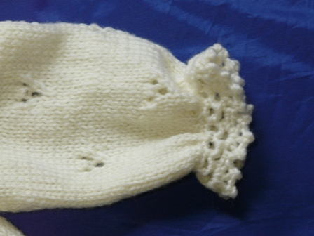 編み物 ベビードレスセット 4